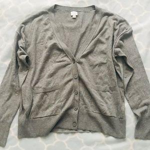 a new day XL Gray Thin Cardigan